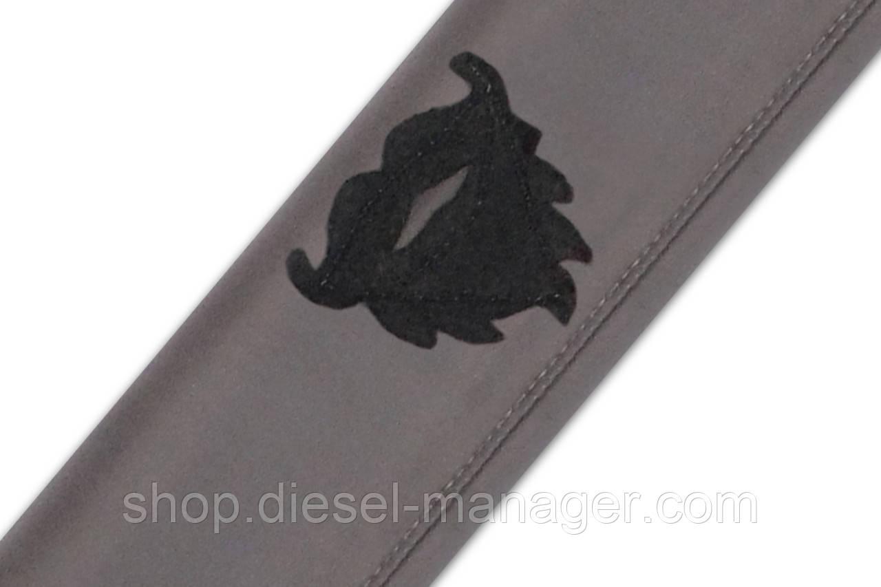 Чехол на ремень безопасности SMART BELT Gent-11 hipster beard Серый (GN011)