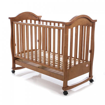 Детская кроватка Baby Care BC-411BC тик, фото 2