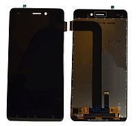 Оригинальный дисплей (модуль) + тачскрин (сенсор) для Nomi i5011 Evo M1 (черный цвет)