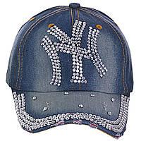 Женская кепка бренд со стразами 4