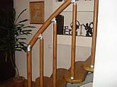 Алюминиевые перила  с вертикальными леерами, фото 2