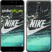 "Чехол на Meizu M6 Note Water Nike ""2720c-1108-2911"""