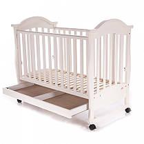 Детская кроватка Baby Care BC-411BC слоновая кость, фото 3