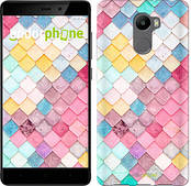 "Чехол на Xiaomi Redmi 4 Красочная черепица ""3703c-417-2911"""