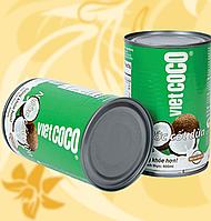 Кокосове Молоко, VietCoco, 5-7%, 400мл, Вьетнам, Мо