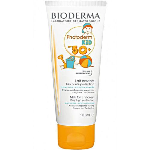 Солнцезащитное молочко для детей Bioderma Photoderm Kid Lait Solaire Enfants SPF 50+, 100 мл