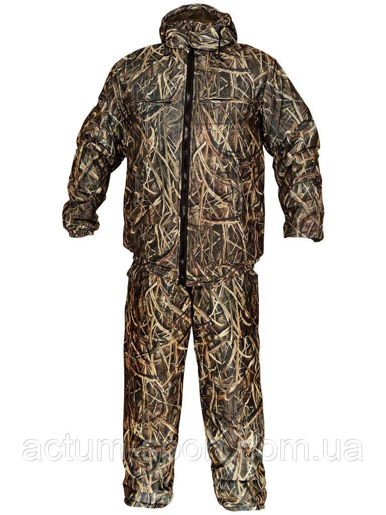 Костюм мужской зимний камуфляж для охоты и рыбалки Камыш 56