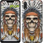 "Чехол на Huawei P Smart Plus Череп индейца ""4032u-1555-2911"""