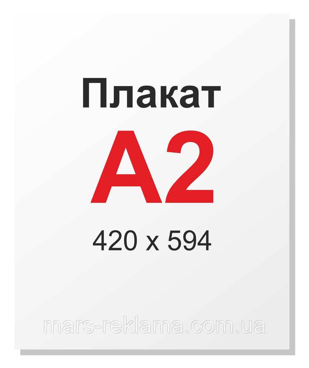 Плакат постер А2