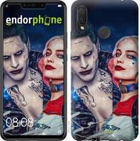"""Чехол на Huawei P Smart Plus Джокер и Харли Квинн """"3802u-1555-2911"""""""