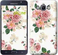 """Чехол на Samsung Galaxy J7 (2016) J710F цветочные обои v1 """"2293c-263-2911"""""""