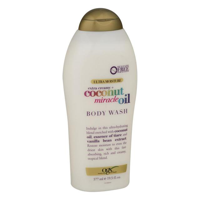 OGX Extra Creamy + Coconut Miracle Oil Ultra Moisture Body Wash