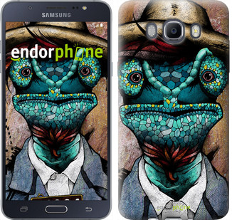 "Чехол на Samsung Galaxy J7 (2016) J710F Хамелеон в розыске ""4030c-263-2911"""