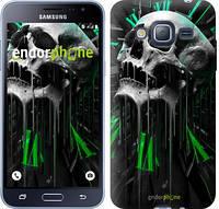 "Чехол на Samsung Galaxy J3 Duos (2016) J320H Череп-часы ""4100c-265-2911"""