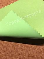 Рулонная штора Блэкаут салатовая, фото 1