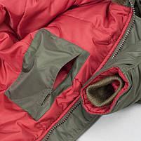 Куртка зимняя Slim Fit Аляска N-3B Olive, фото 5