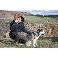 Куртка зимняя Slim Fit Аляска N-3B Olive, фото 8