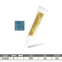 Гелевый перламутровый карандаш для надписей Modecor голубой (код 00639)