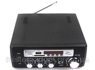 Усилитель звука WG-005A Два входа для микрофона Wvngr