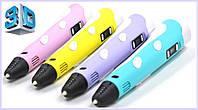 3D ручка PEN-2 с Led дисплеем, 3Д ручка 2 поколения Smartpen, MyRiwell, Акция!!