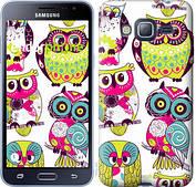"Чехол на Samsung Galaxy J3 Duos (2016) J320H Совы ""1805c-265-2911"""