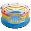 Детский надувной игровой центр, батут Intex 48264, размеры 182*86см, фото 2