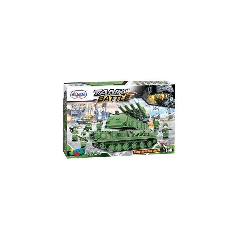 Конструктор WINNER Tank Battle 1315 823 деталей