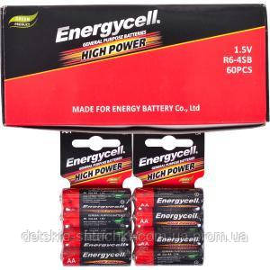 Батарейка Energycell R6 /4 /солевая R6, AA