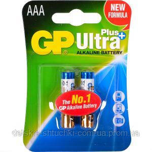 Батарейка GP 24 AUP-U2 щелочная LR03 AUP, AAA Alkaline Ultra