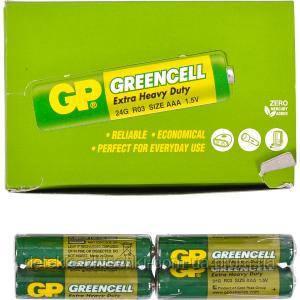 Батарейка GP 24 G-S2 солевая R03, AAA GP-001185