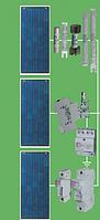 Типовой электрощит для солнечных батарей по стороне постоянного тока