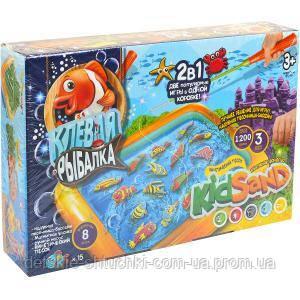 Гра велика «Кльова рибалка» і «Кінетичний пісок «KRKS-01–01 ФР-00007659