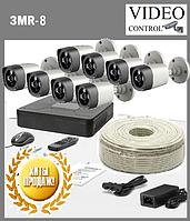 """Система видеонаблюдения 8 камер 3G-SDI """"3MR-8"""" (2048x1536), фото 1"""