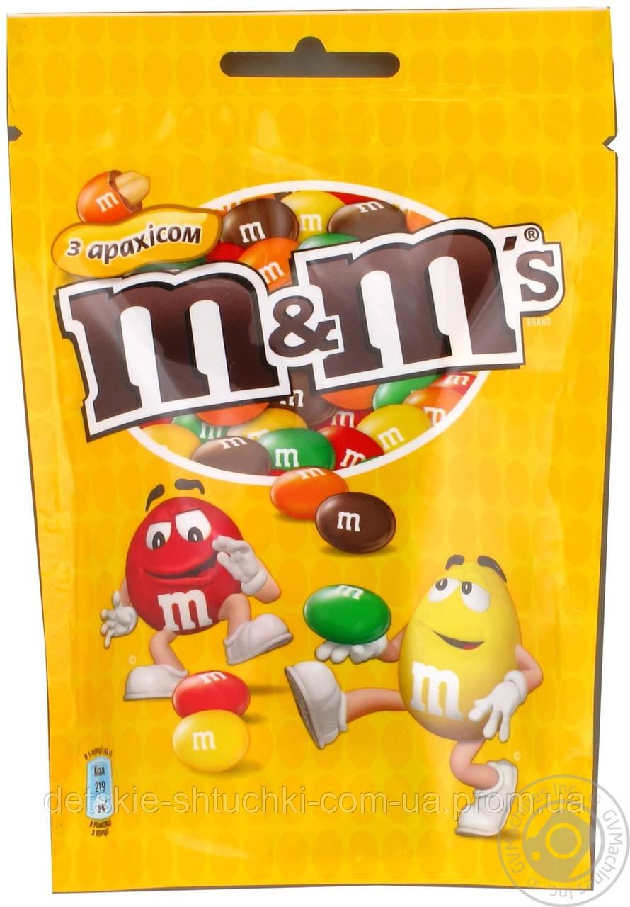 Драже M&M`s с арахисом 125грамм