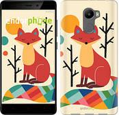 """Чехол на Xiaomi Redmi 4 Rainbow fox """"4010c-417-2911"""""""