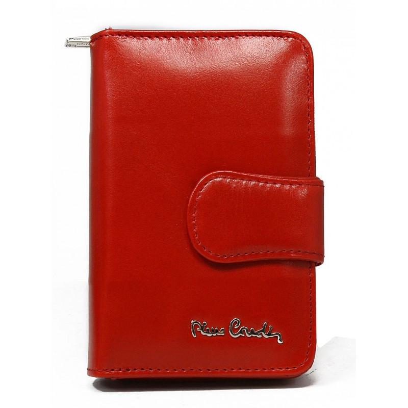 Женский кожаный кошелек Pierre Cardin 01 LINE 115 Red