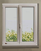 Окно металлопластиковое двустворчатое Rehau 60