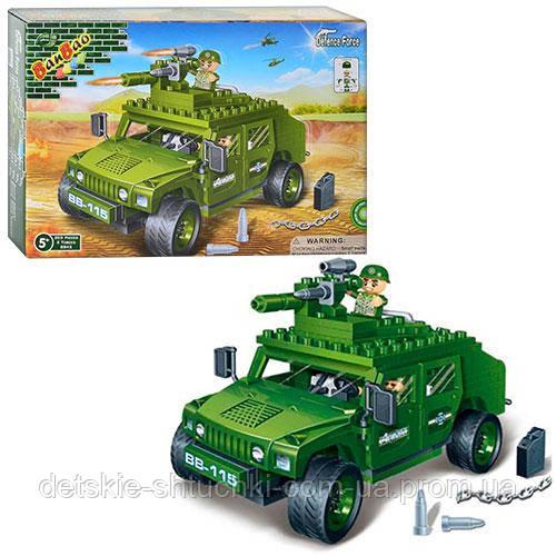 Конструктор BANBAO 8842 військова машина 28-19-5,5 см