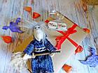 Сувенир, оберег - Баба-Яга или Ведьма, ручная работа, фото 3