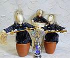 Сувенир, оберег - Баба-Яга или Ведьма, ручная работа, фото 4