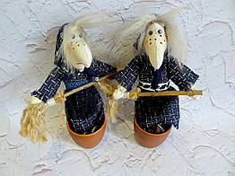 Сувенир, оберег - Баба-Яга или Ведьма, ручная работа
