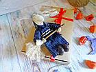 Сувенир, оберег - Баба-Яга или Ведьма, ручная работа, фото 7