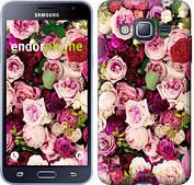 """Чехол на Samsung Galaxy J3 Duos (2016) J320H Розы и пионы """"2875c-265-2911"""""""