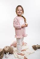 Детская пижама для девочки розовая