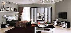 Спальня Виола (глянец белый /чёрный мат), фото 3