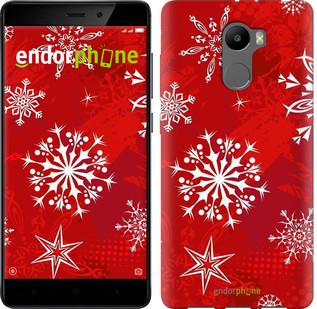 "Чехол на Xiaomi Redmi 4 Снежинка 2 ""3312c-417-2911"""