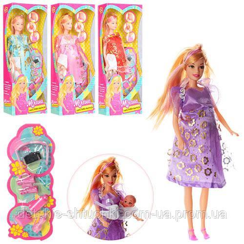 Лялька 88069-1 вагітна, пупс, аксесуари,12,5-33-5 см