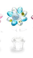 Цветок хрустальный (9,5х4,5х3,5 см) 23361