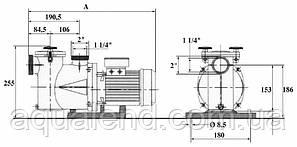 Насос Ninfa NK25 Kripsol циркуляційний 0,27 кВт, 6м3/год, фото 2