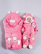 """Набор на выписку """"Панда"""" (конверт, комбинезон, шапочка) для девочек и мальчиков. Зима"""